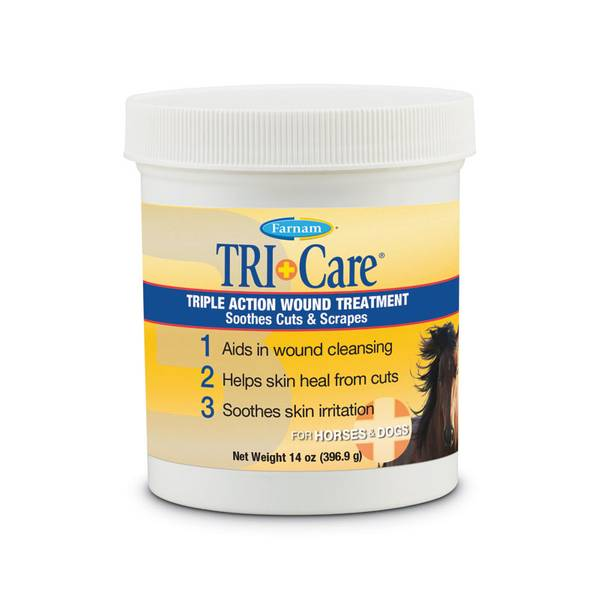 Tri-Care 3 Way Wound Treatment for Horses & Dogs