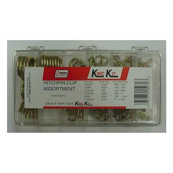 103 Piece Hitch Pin Clip Kit