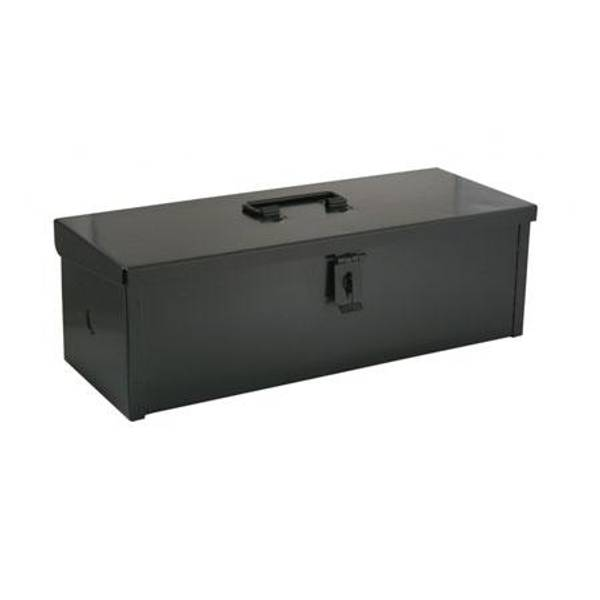 Black Tractor Mounted Tool Box