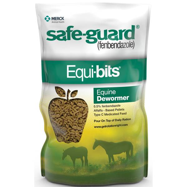 Safe-Guard Equibits Equine Dewormer