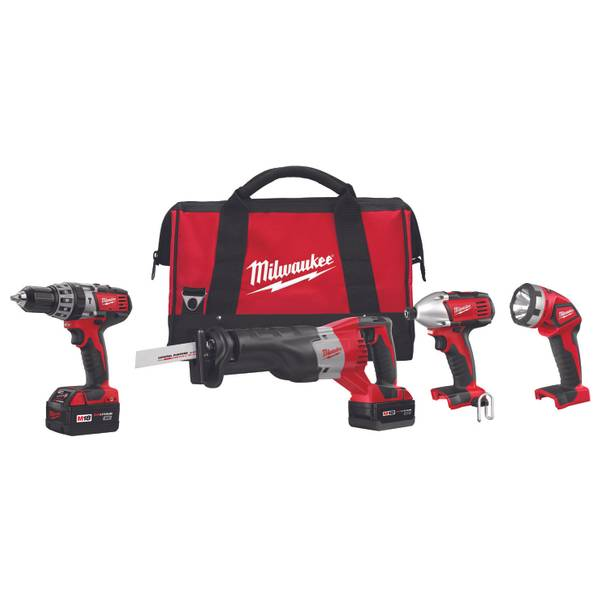 M18 Cordless LITHIUM-ION 4-Tool Combo Kit