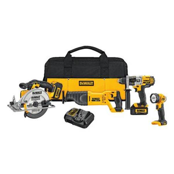 20V Max Lithium - Ion 4 - Tool Combo Kit