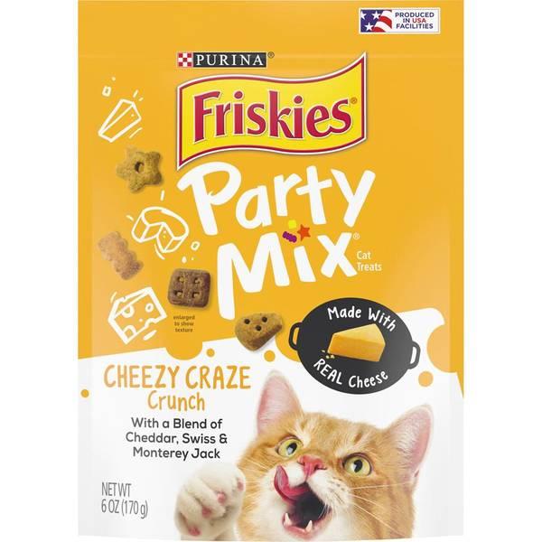 Party Mix Cheezy Craze Crunch Cat Treats