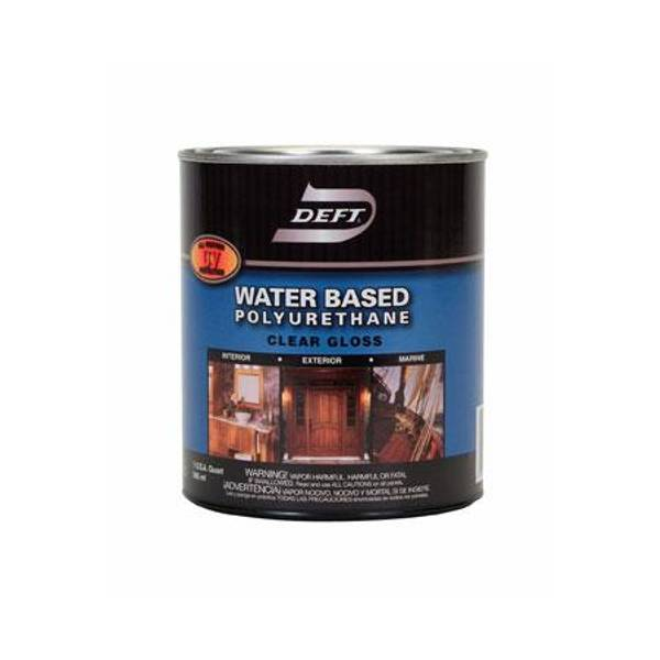 Deft 1 quart water based interior exterior poly gloss - Exterior paint oil or water based ...