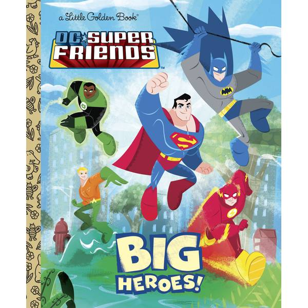 Big Heroes! DC Super Friends