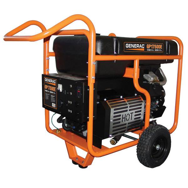 GP17500E Portable Generator with Electric Start