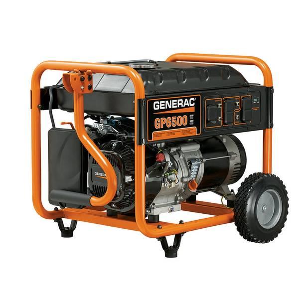 GP6500 Portable Generator