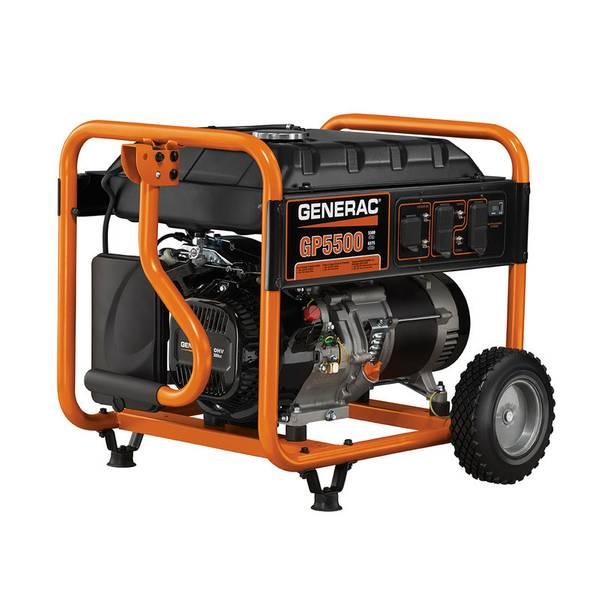 GP5500 Portable Generator