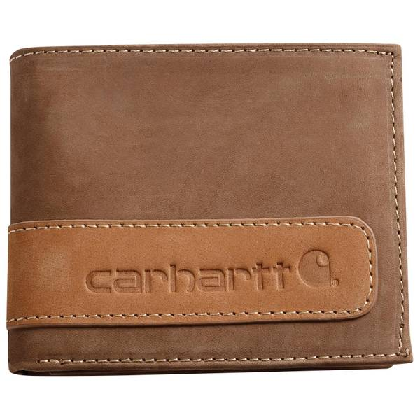 Two-Tone Billfold with Wing
