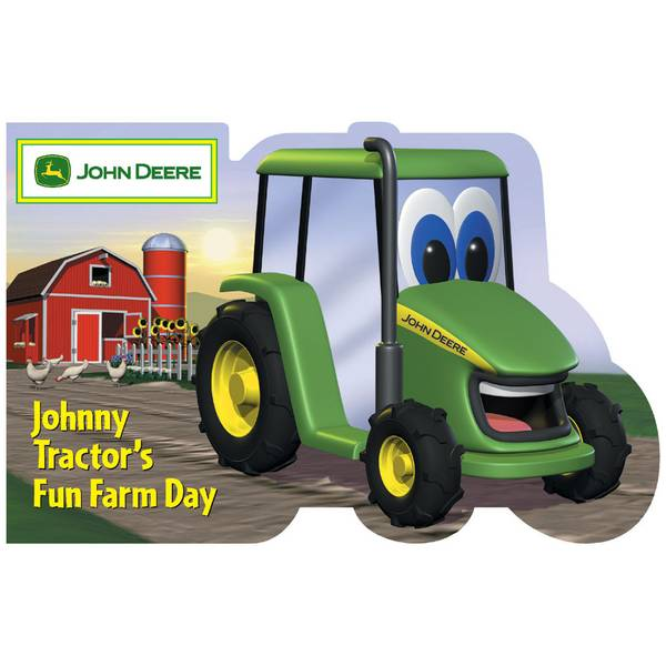Johnny Tractor Cartoon : Running press johnny tractor s fun farm day board book