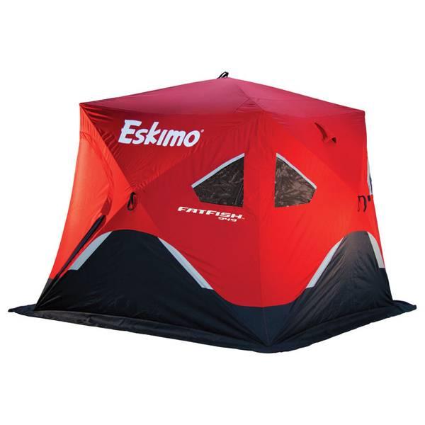 Pop Up Fishing Shelter : Eskimo fatfish pop up ice shelter