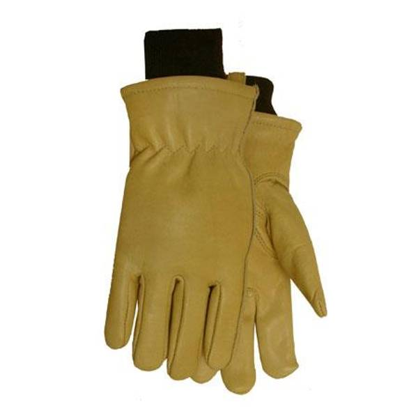 Men's Thermolite Lined Smooth Cowhide Work Gloves