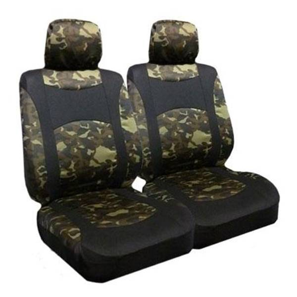 Camouflage Low Bucket Seat Covers