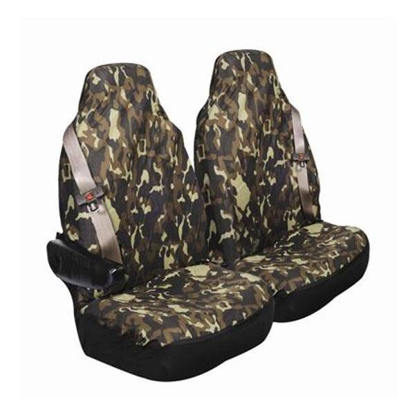 Allison Camouflage SUV Amp Large Bucket Seat Covers