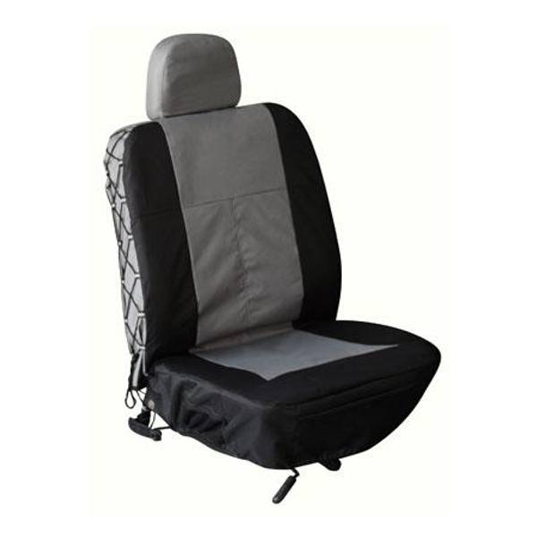 Gray Trekker Bucket Seat and Head Rest Cover