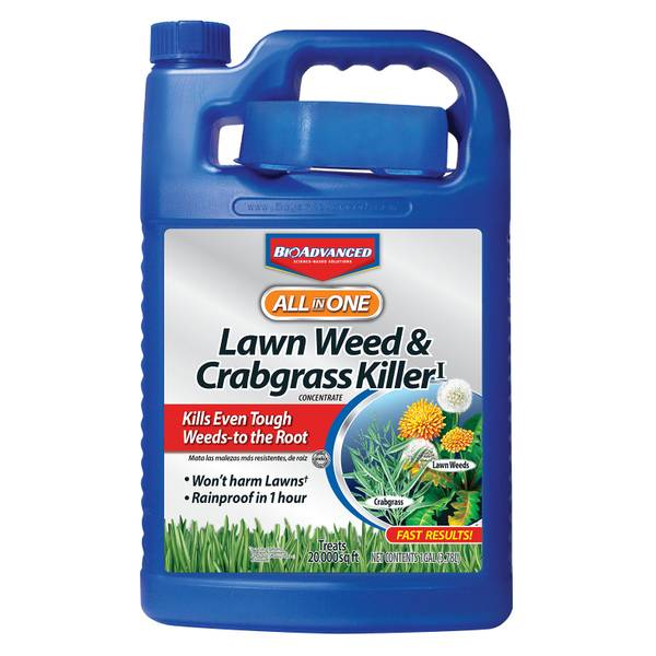 All - In - One Lawn Weed & Crabgrass Killer