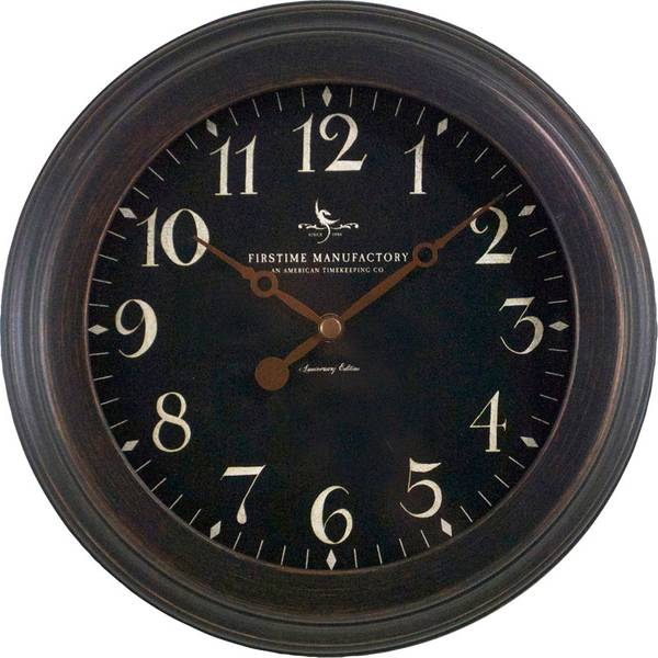 Firstime Manufactory Black Onyx Clock