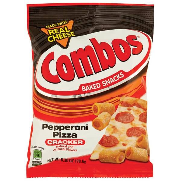 Combos Pepperoni Pizza Cracker Snacks