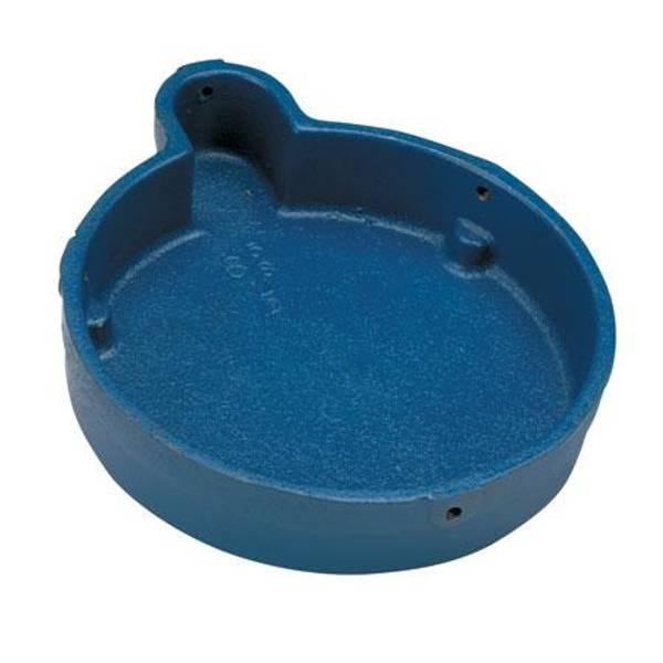 Parts o cast iron well cap