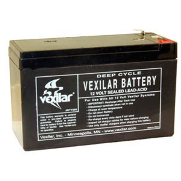 Replacement Ice Fishing Sonar 9 Amp Battery