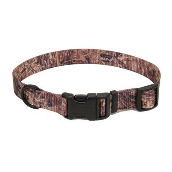 Max 4 Camouflage Adjustable Nylon Dog Collars
