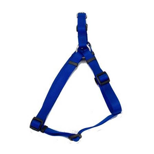 Blue Comfort Wrap Adjustable Dog Harness