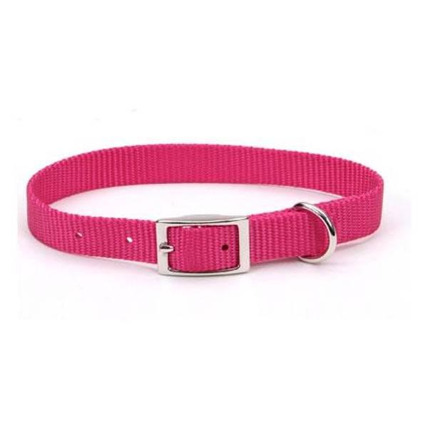 Pink Flamingo Nylon Collar
