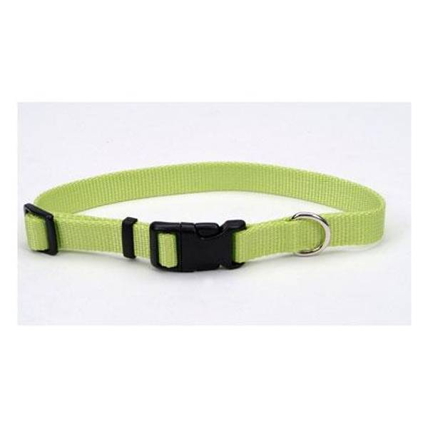 Lime Adjustable Tuff Nylon Collar