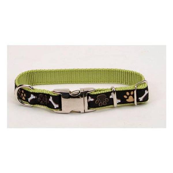 Ribbon with Metal Buckle Adjustable Collar