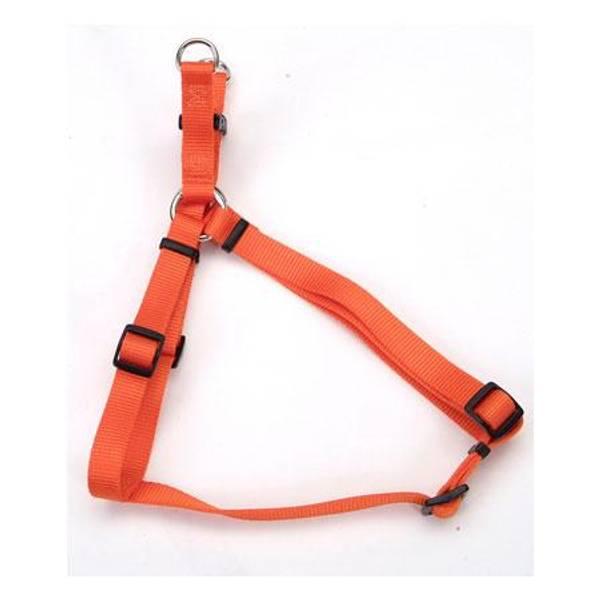 Sunset Orange Comfort Wrap Adjustable Harness