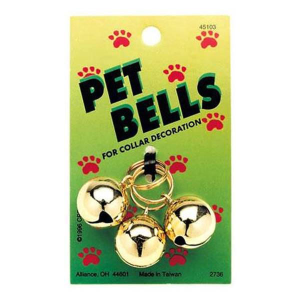 Gold Pet Bells