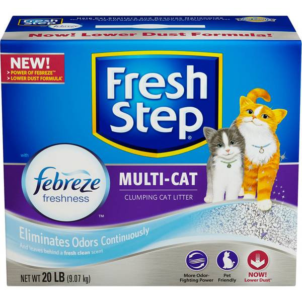 Multi - Cat Scoopable Cat Litter