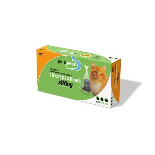 Large Cat Pan Sifting Litter Box Liners