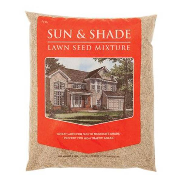 Sun & Shade Lawn Seed Mixture
