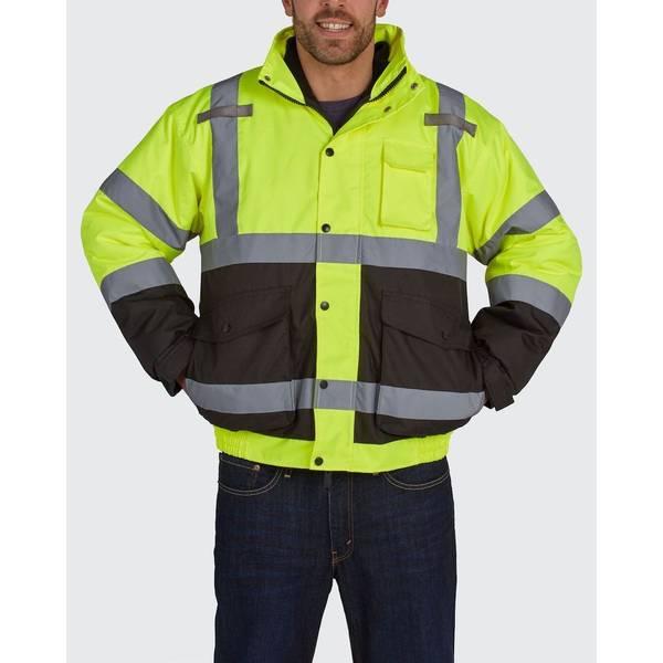 Men's Hi Visibility Class 3 Bomber Jacket
