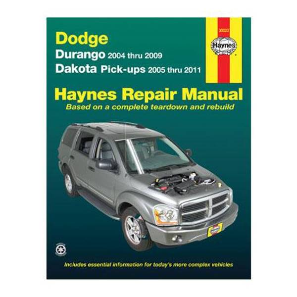 Dodge Durango (04-09) & Dakota Pick-Ups (05-11) Manual