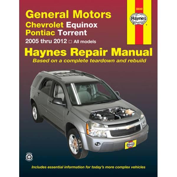 Chevrolet Equinox & Pontiac Torrent, '05-'12 Manual
