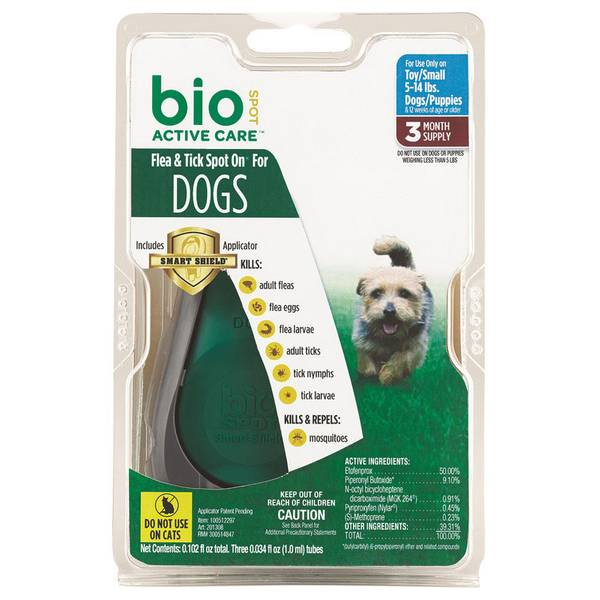 Active Care Flea & Tick Spot On for Dogs