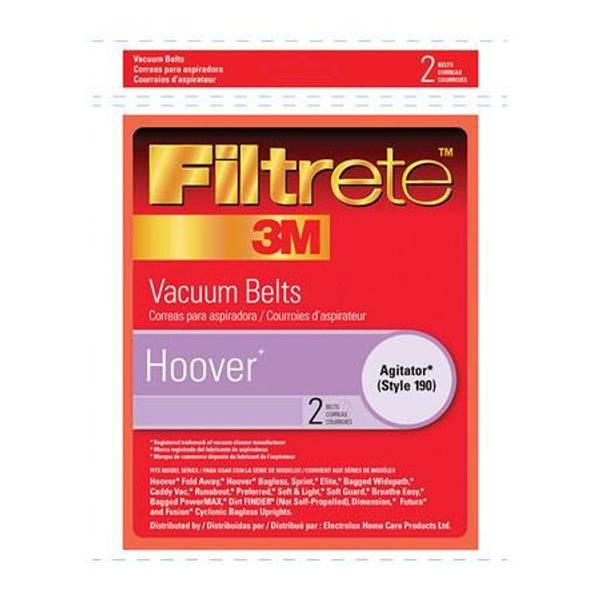 Hoover Agitator Style 190 Vacuum Cleaner Belt