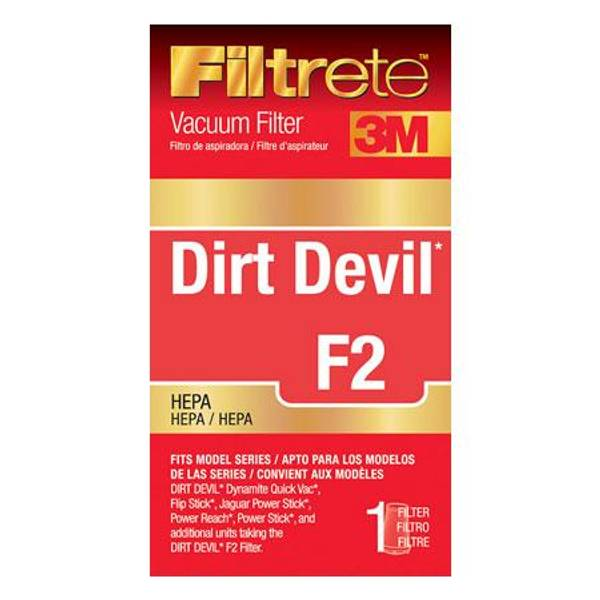 Dirt Devil F2 HEPA Vacuum Filter