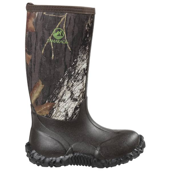 Boys' Camouflage Neoprene Rubber Boots