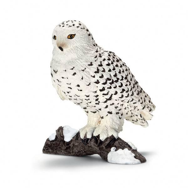 Snowy Owl Figurine