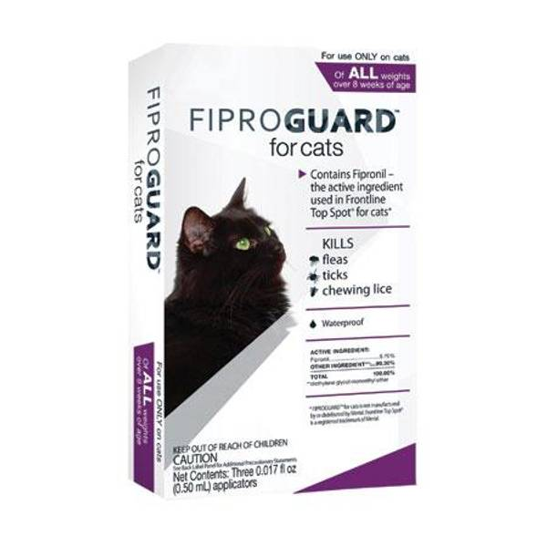 Flea & Tick Topical Medication for Cats
