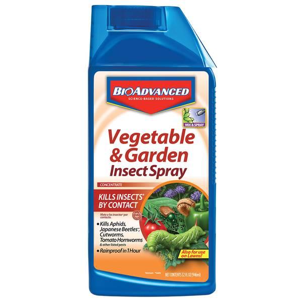 Bayer advanced vegetable garden insect spray for Bayer garden