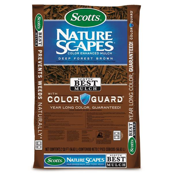 2 cu. ft. Deep Brown Nature Scapes Advanced Mulch