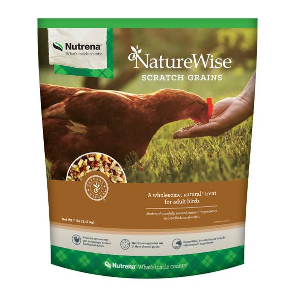NatureWise Scratch Grain Chicken Feed