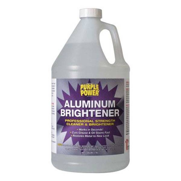 purple power aluminum brightener
