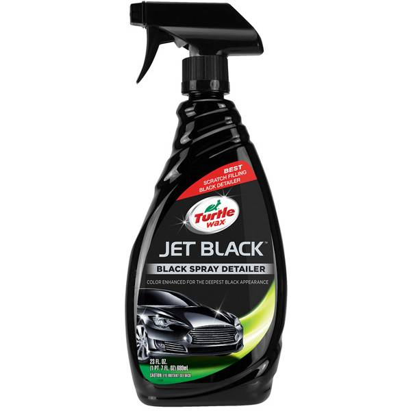 Jet Black Black Spray Detailer