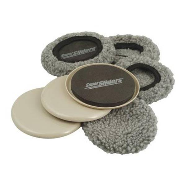 Reusable Round Fabric Sock Furniture Sliders