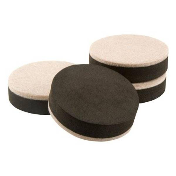 Merveilleux Self Stick Felt Round Furniture Sliders